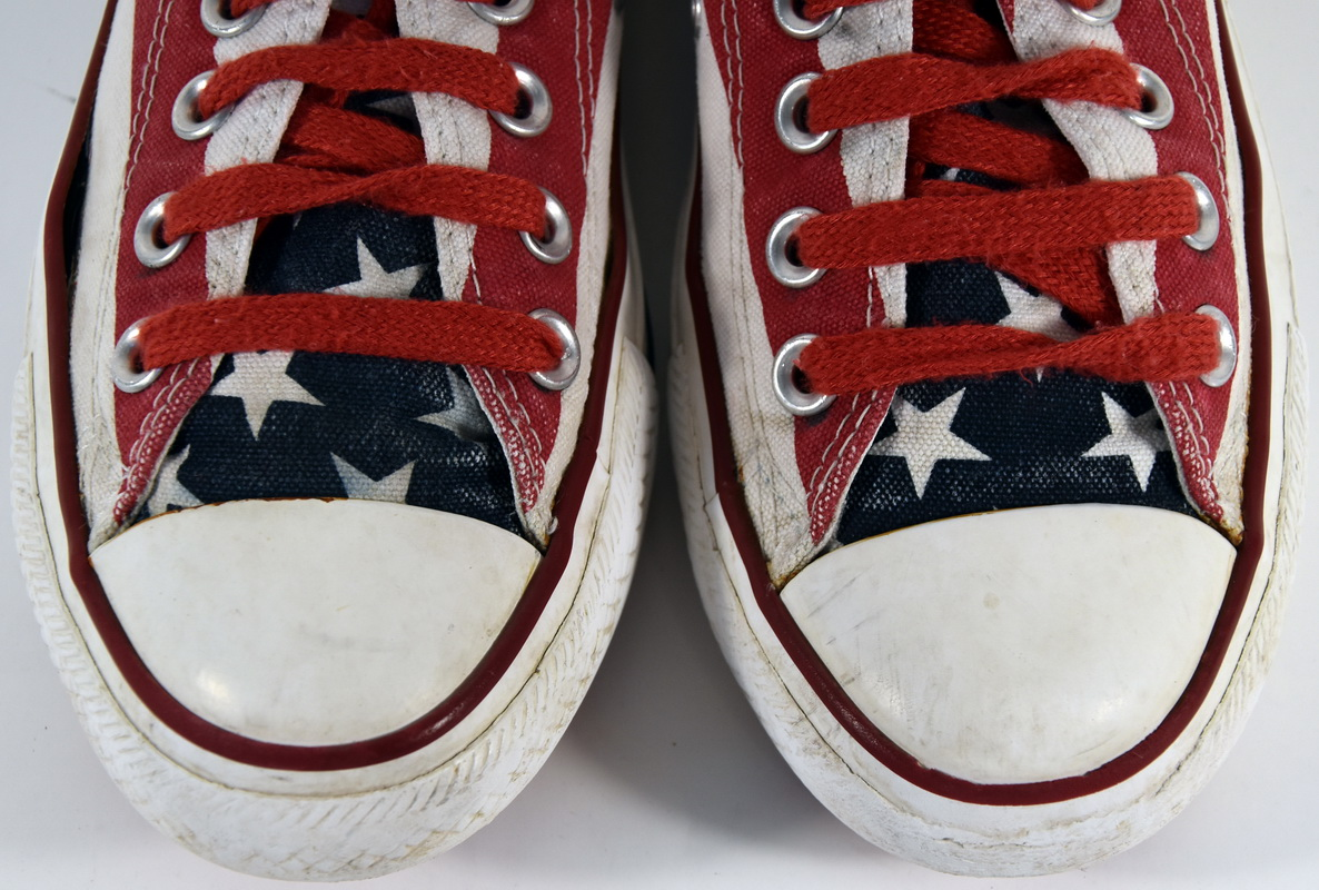Details about O052 basketball converse chuck taylor all star flag us t.37 uk 4.5 € 75 value show original title