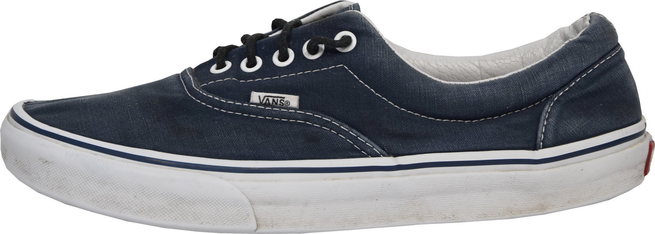 Q055 BASKETS VANS AUTHENTIC BLEU MARINE T.43 US 10 VALEUR 70