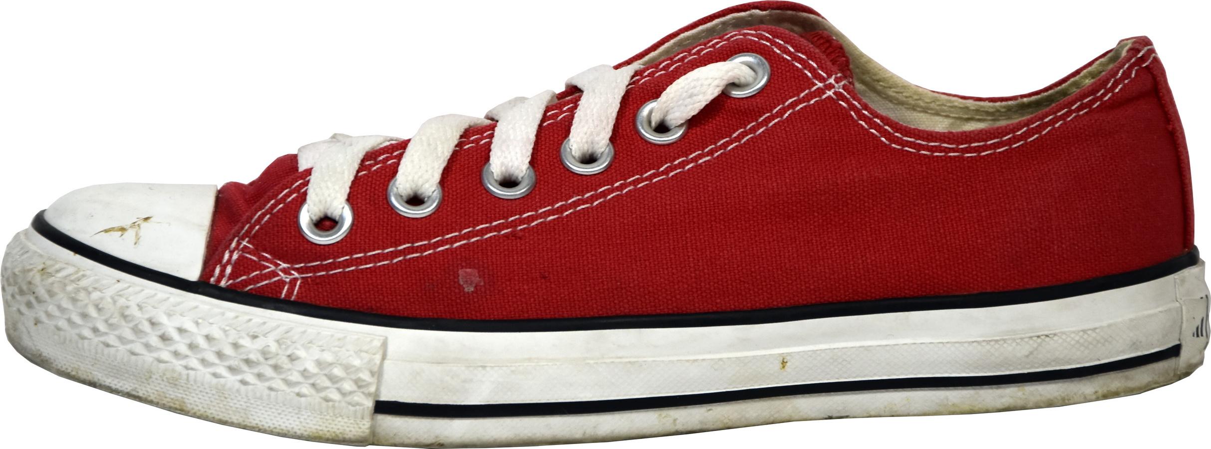 908e54708d5cf Converse basses rouge chuck taylor core ox - très bon état voir photos juste  semelle un peu salie - le 37 correspond à un 38